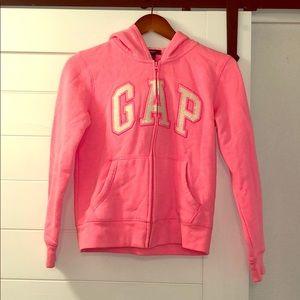 Pink logo hoodie NWOT